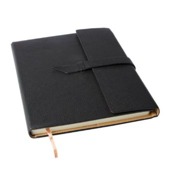 Personalised Executive A4 Notebook with Strap